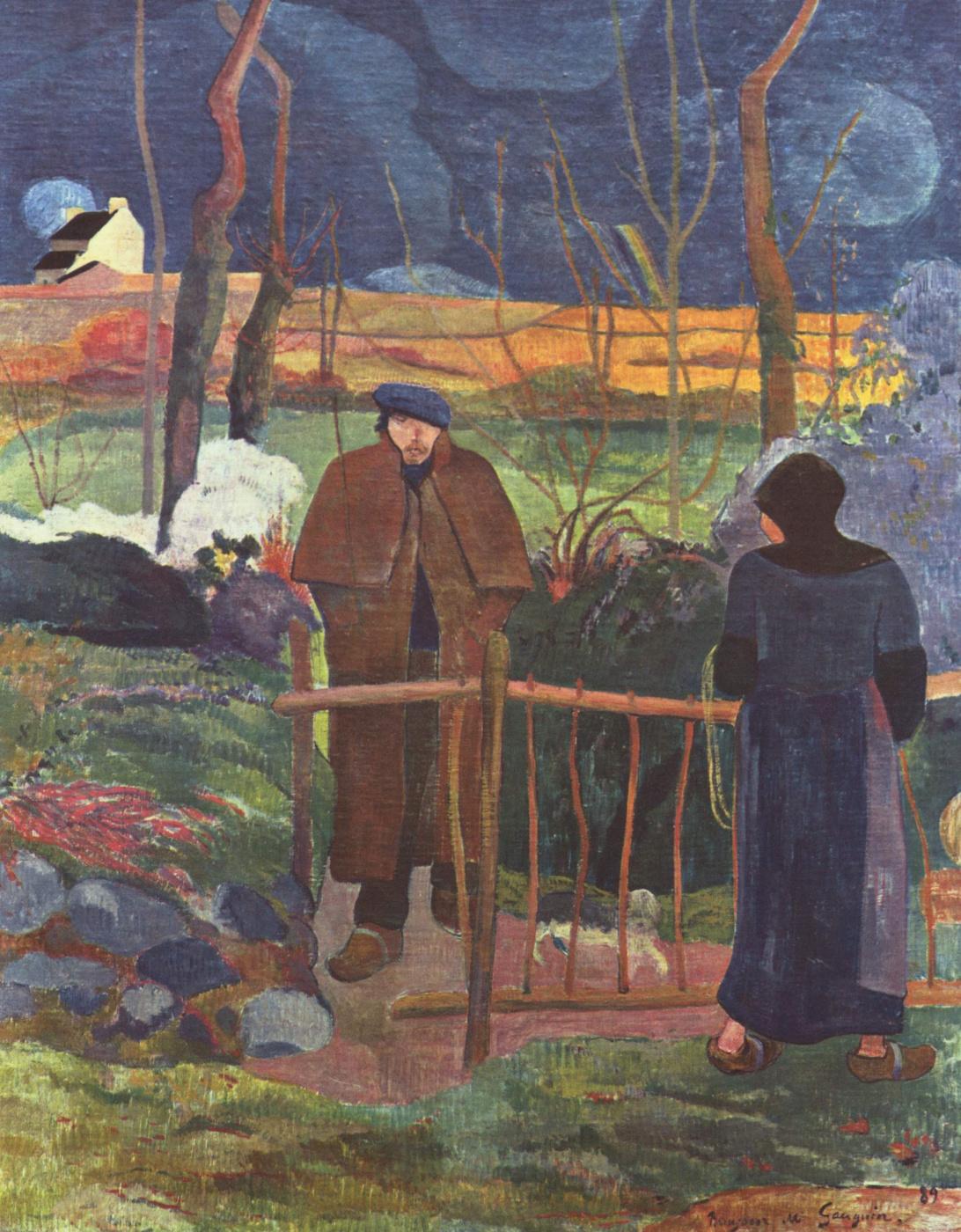 Paul Gauguin. Good morning, Mr. Gauguin!