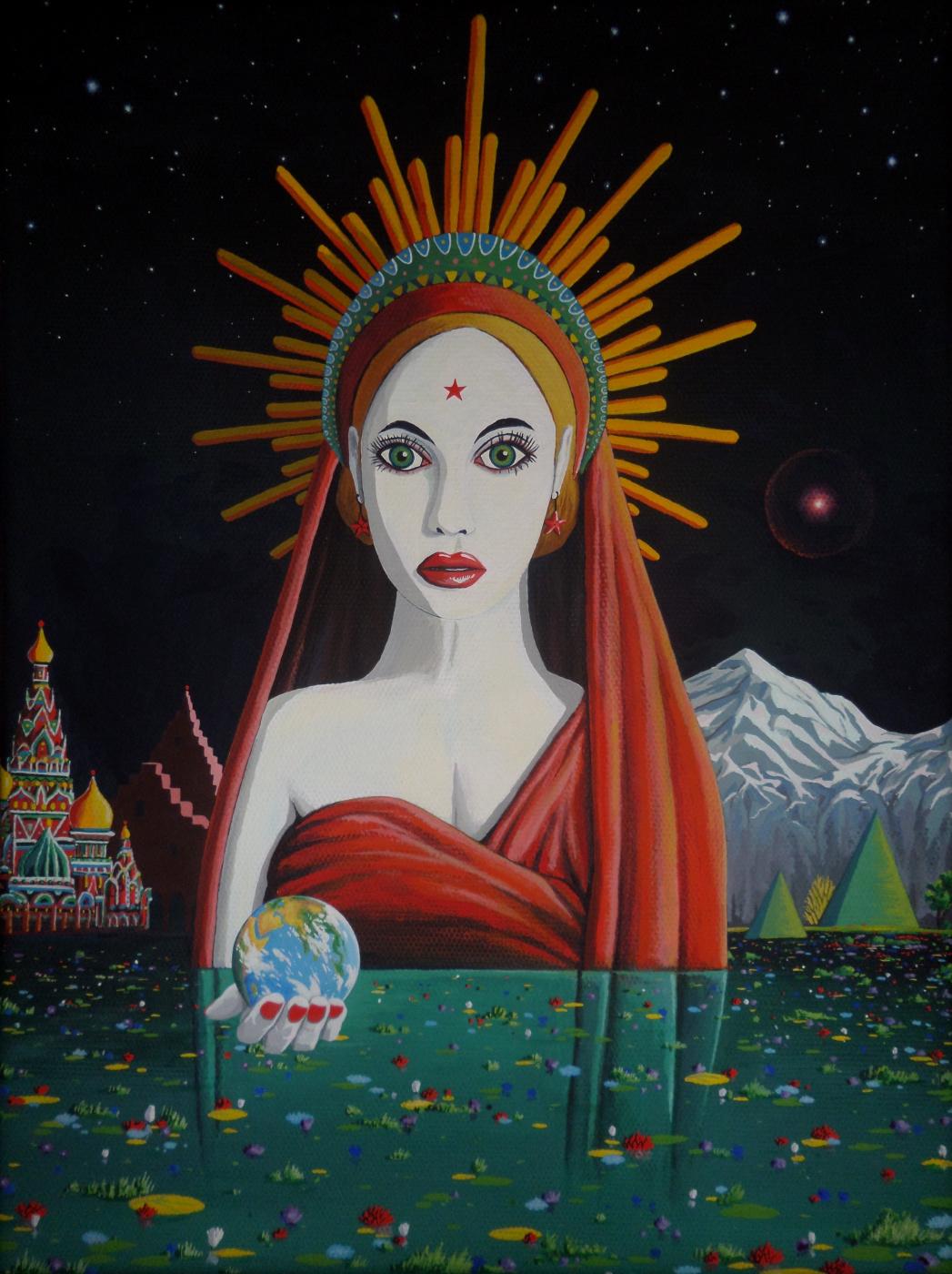 Илья Борисов. Родина-Мать. Сердце Земли.