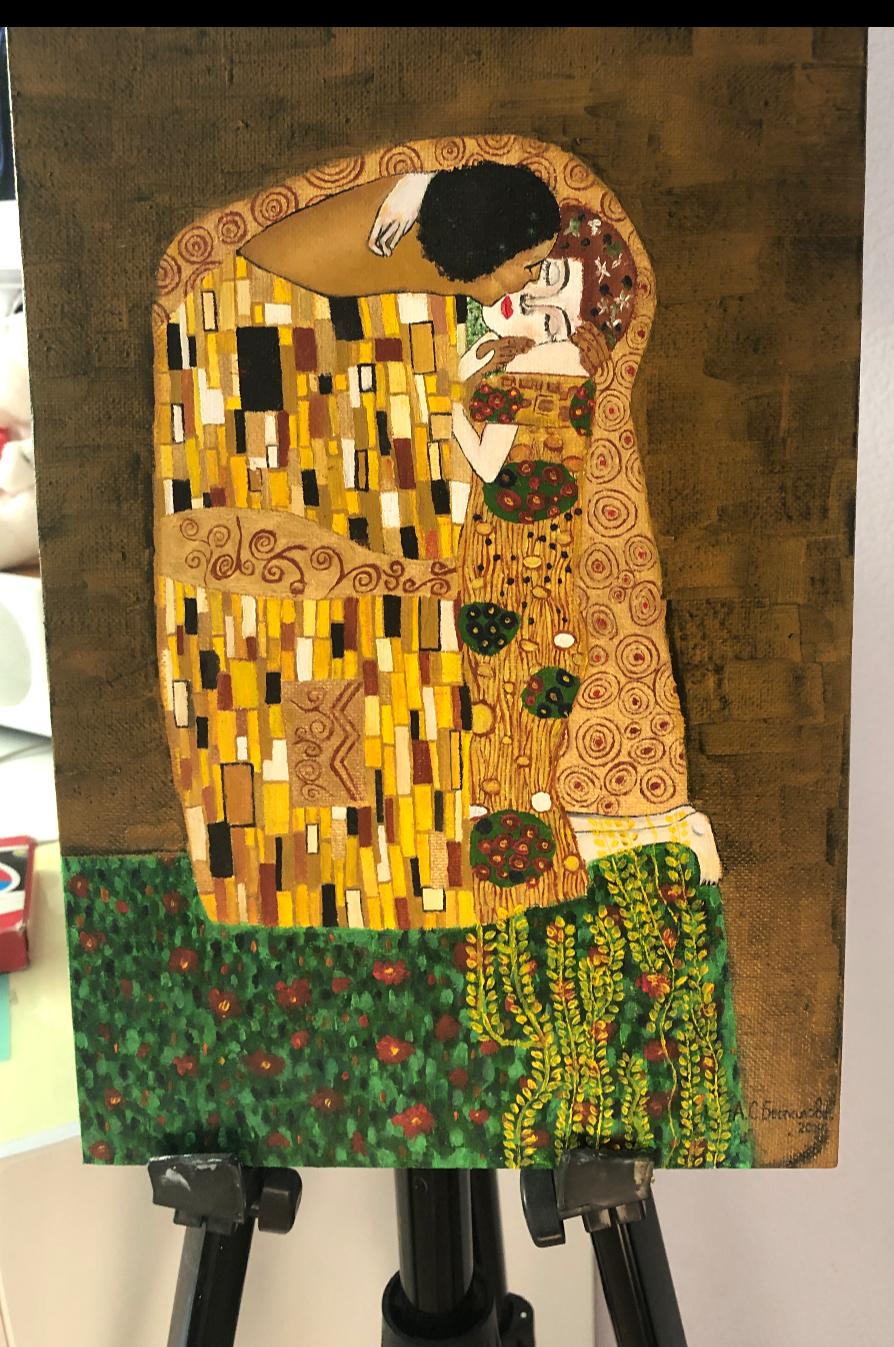 Anastasia Bespalova. Gustav Klimt Kiss