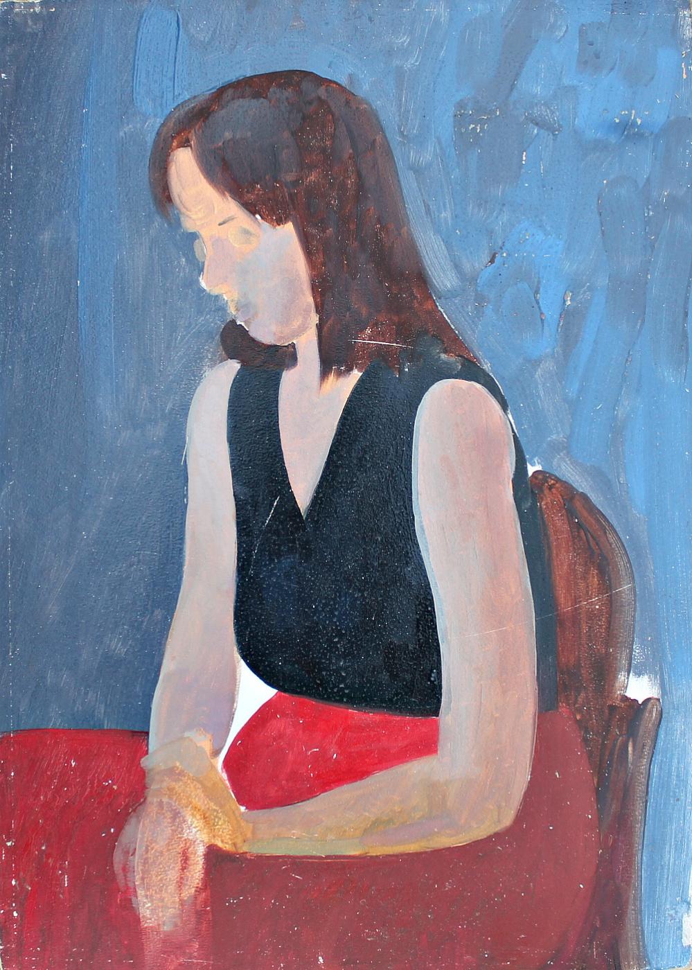 Alexander Aleksandrovich Akimov. Portrait of a Woman