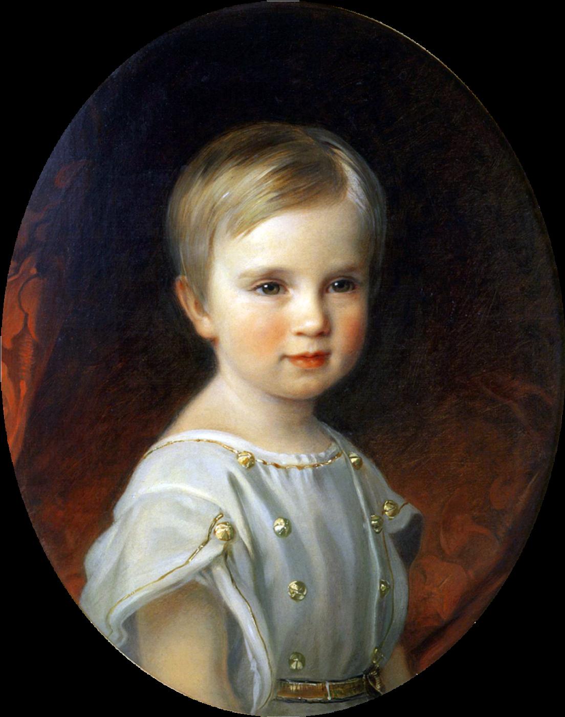 Josef Neugebauer. Crown Prince of Austria Rudolph in childhood