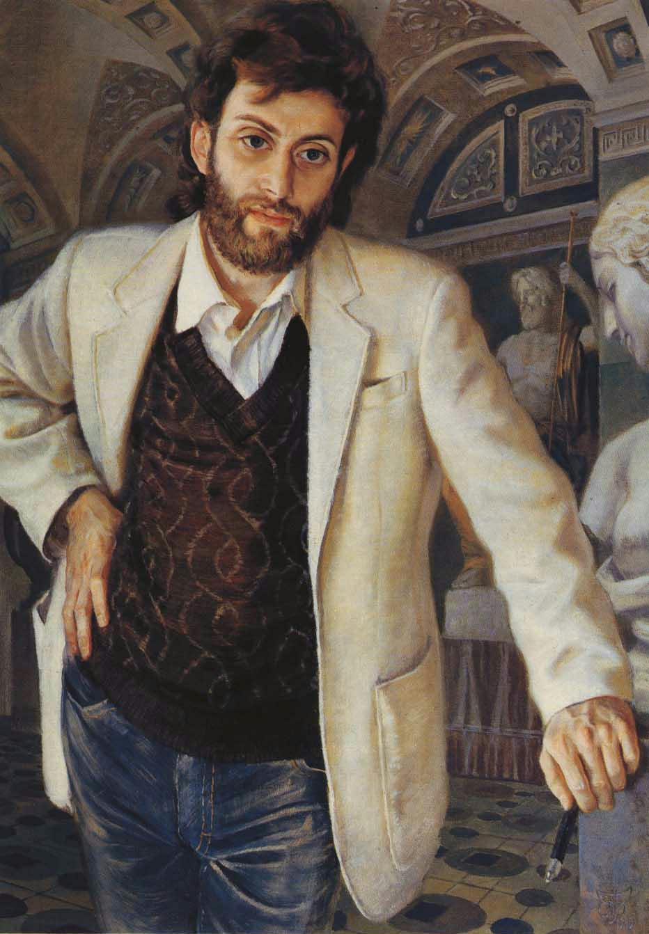 Yuri Vladimirovich Pugachev. Sculptor portrait
