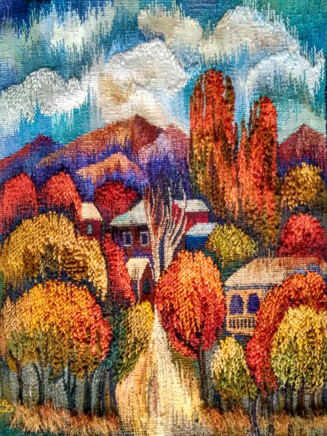 Filosyan Evgenia. Деревня в горах