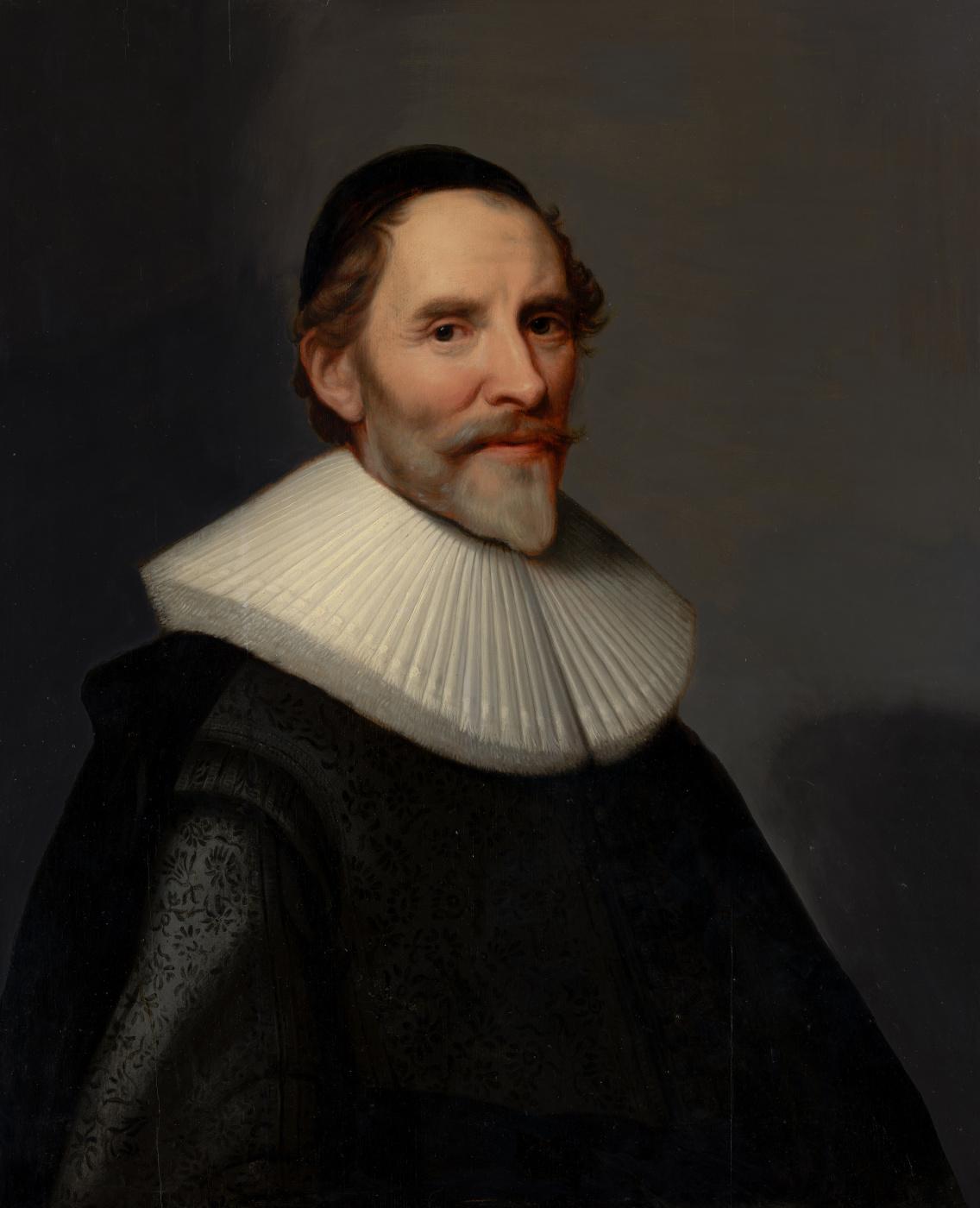Janson Mihil van Mireveld. Portrait of Francois van Arssen