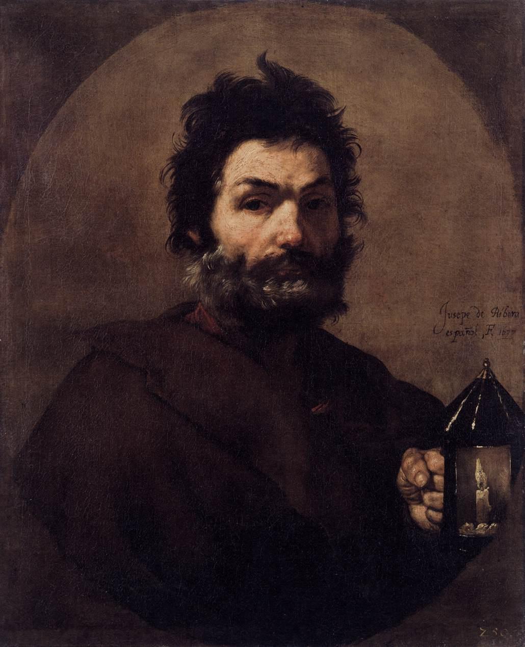 Jose de Ribera. Diogenes