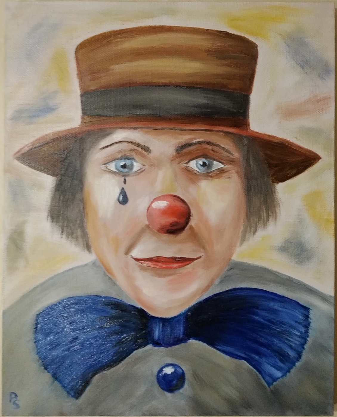 Sergey Valentinovich Polyakov. Clown