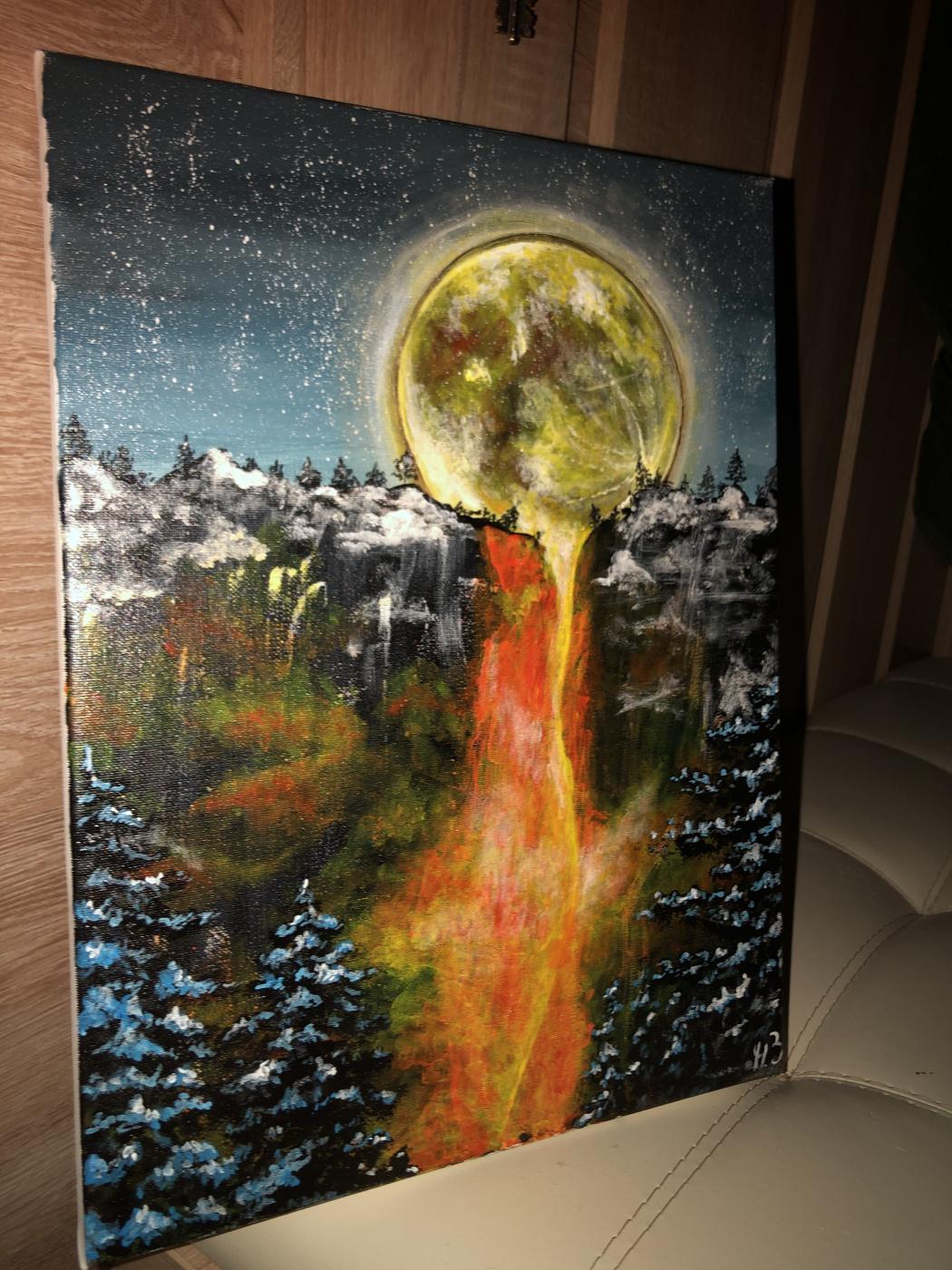Раскалённая Луна