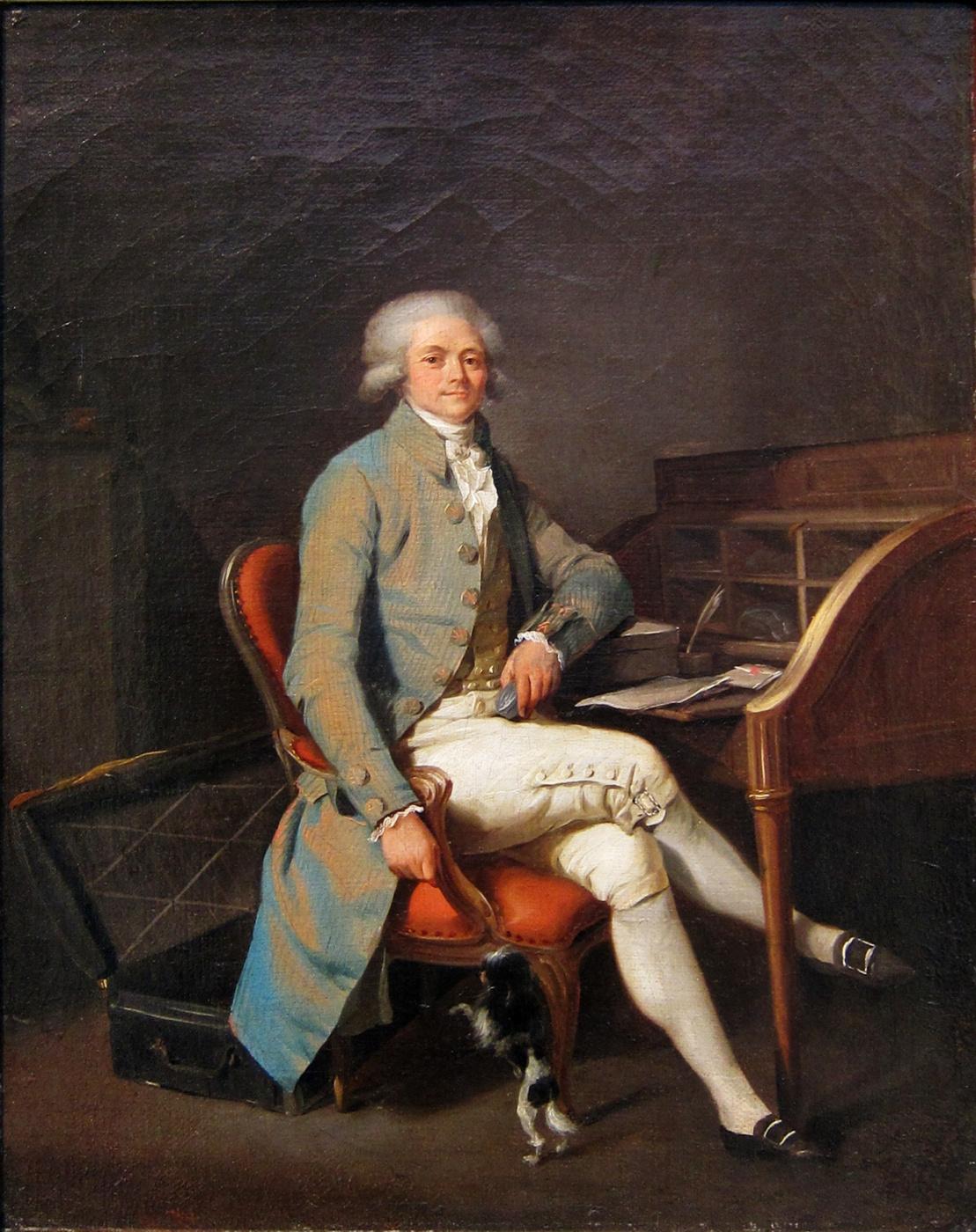 Louis Leopold Boilly (Boyi). Portrait of Maximilian de Robespierre
