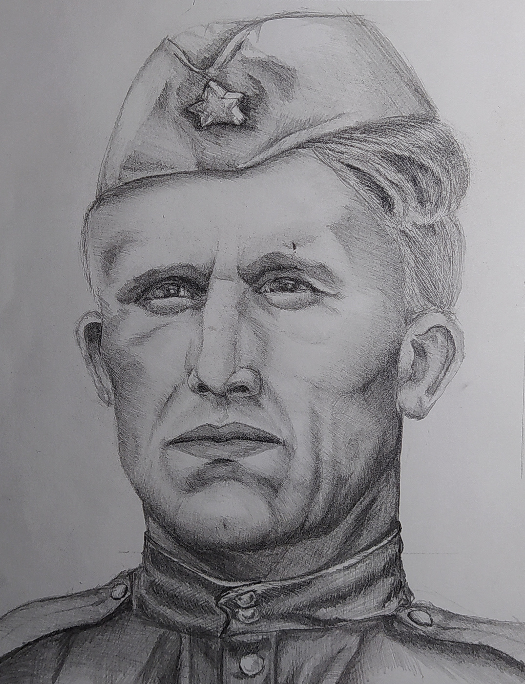 Alexandra Patokina. Soldier