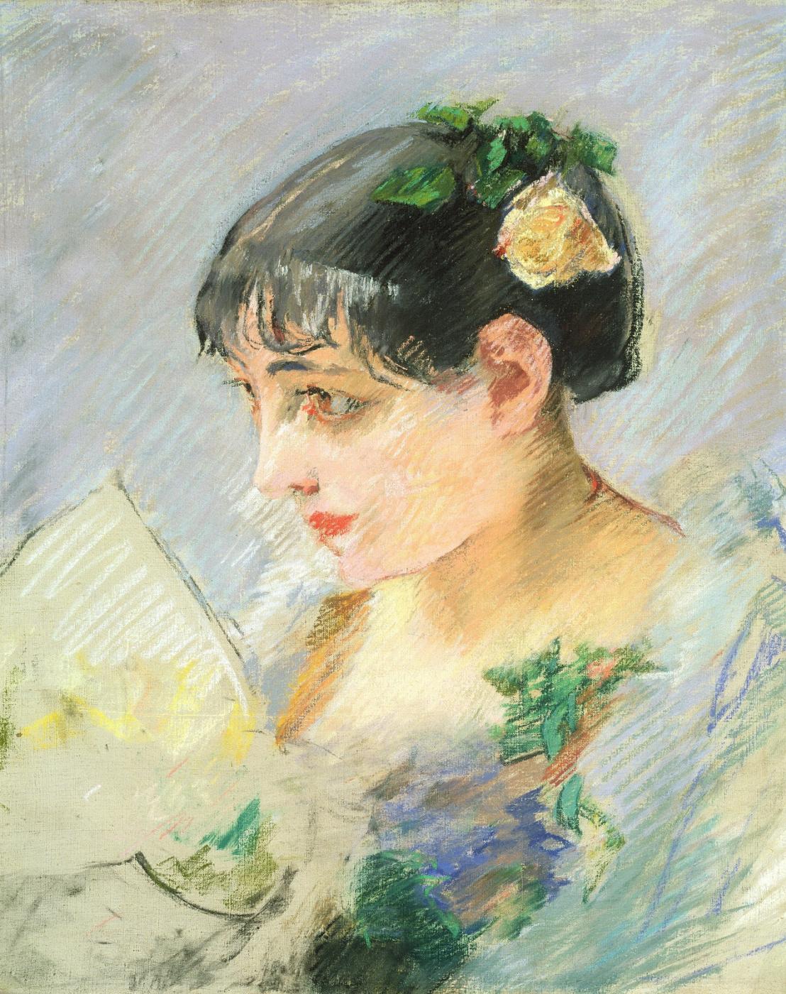 Eva Gonzalez. Portrait of a Modist (Ispanka)