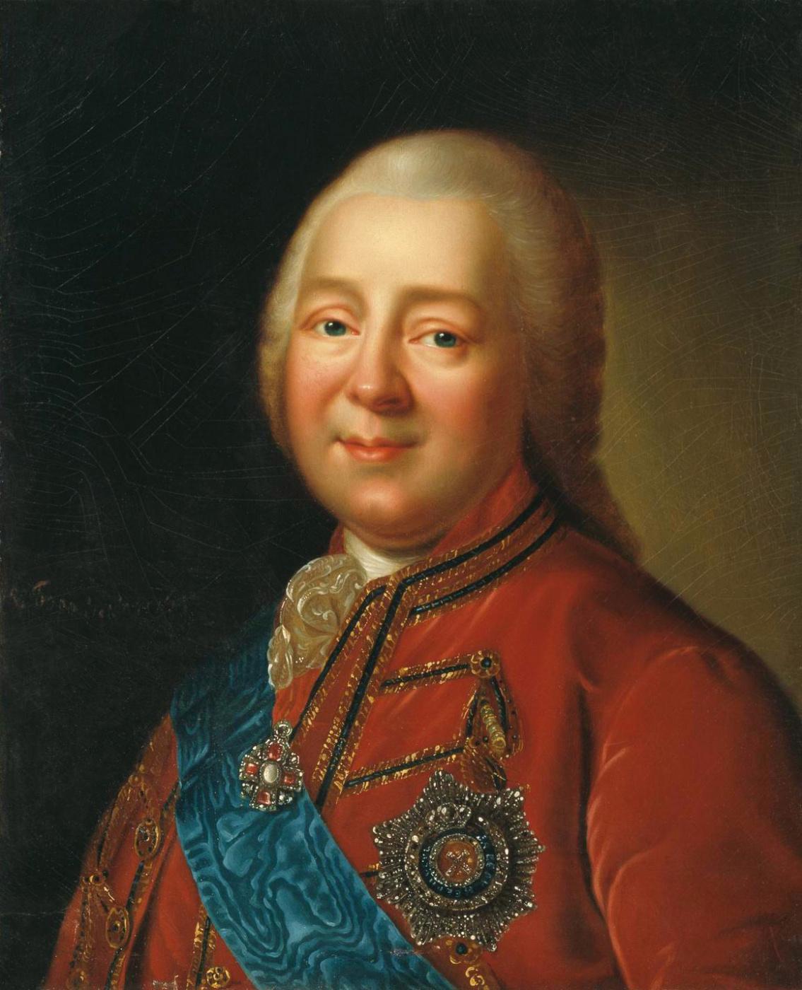 Vladimir Borovikovsky. Portrait of Nikita Ivanovich Panin