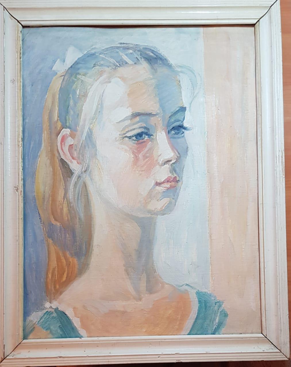 Yuri Semenovich Evseev. Niece Yulka 10 years