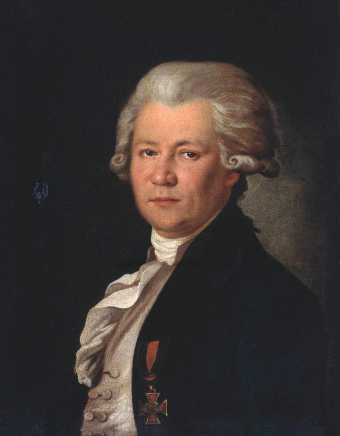 Vladimir Borovikovsky. Portrait of N. Ya. Sverbeev