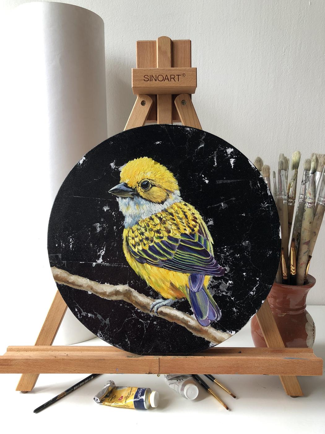 Olga Shatskaya. Желтая пташка