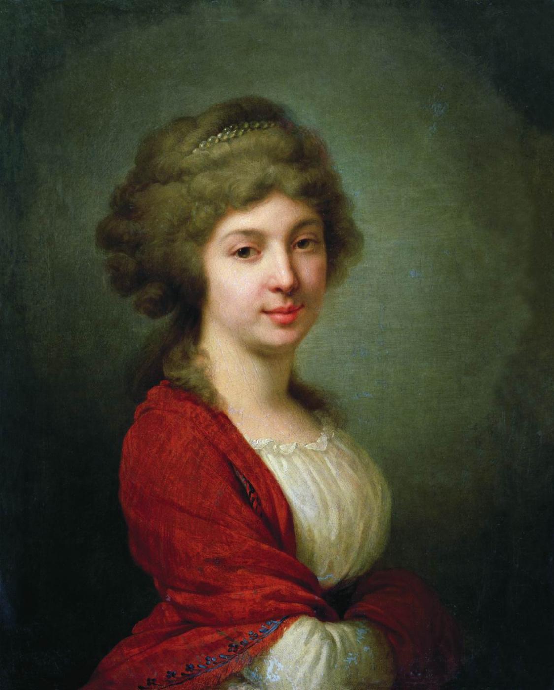 Vladimir Borovikovsky. Portrait of Countess V.N. Zavadovskaya