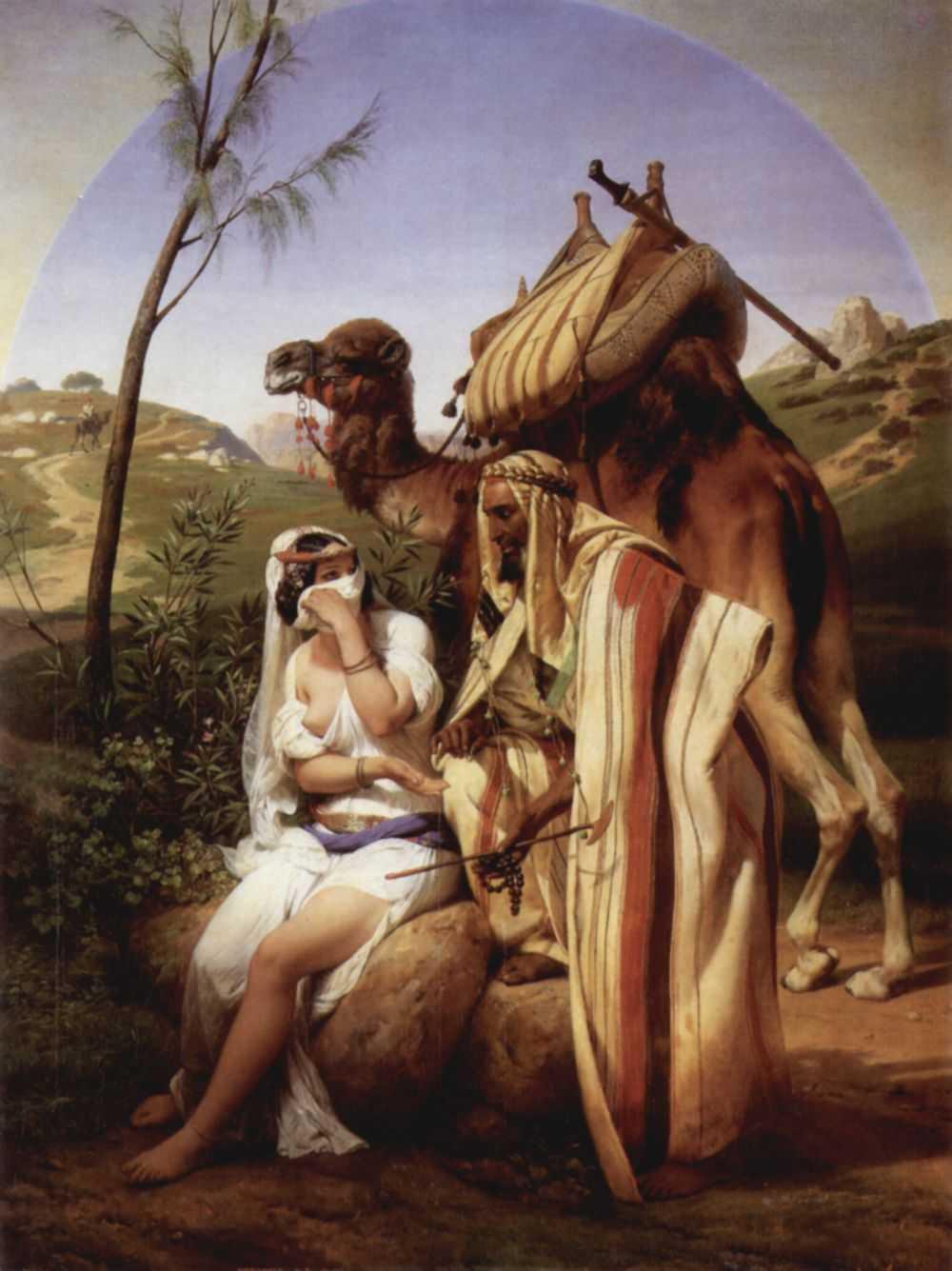 Emil-Jean-Oras Vernet. Judah and Tamar