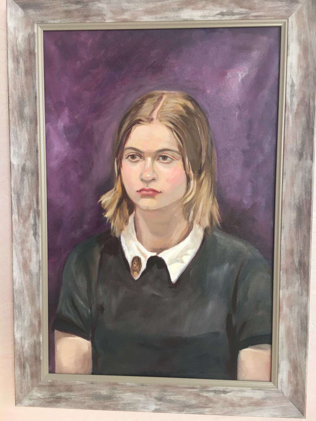 Unknown artist. Portrait of Yana