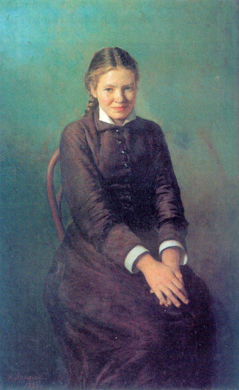 Nikolay Aleksandrovich Yaroshenko. The students