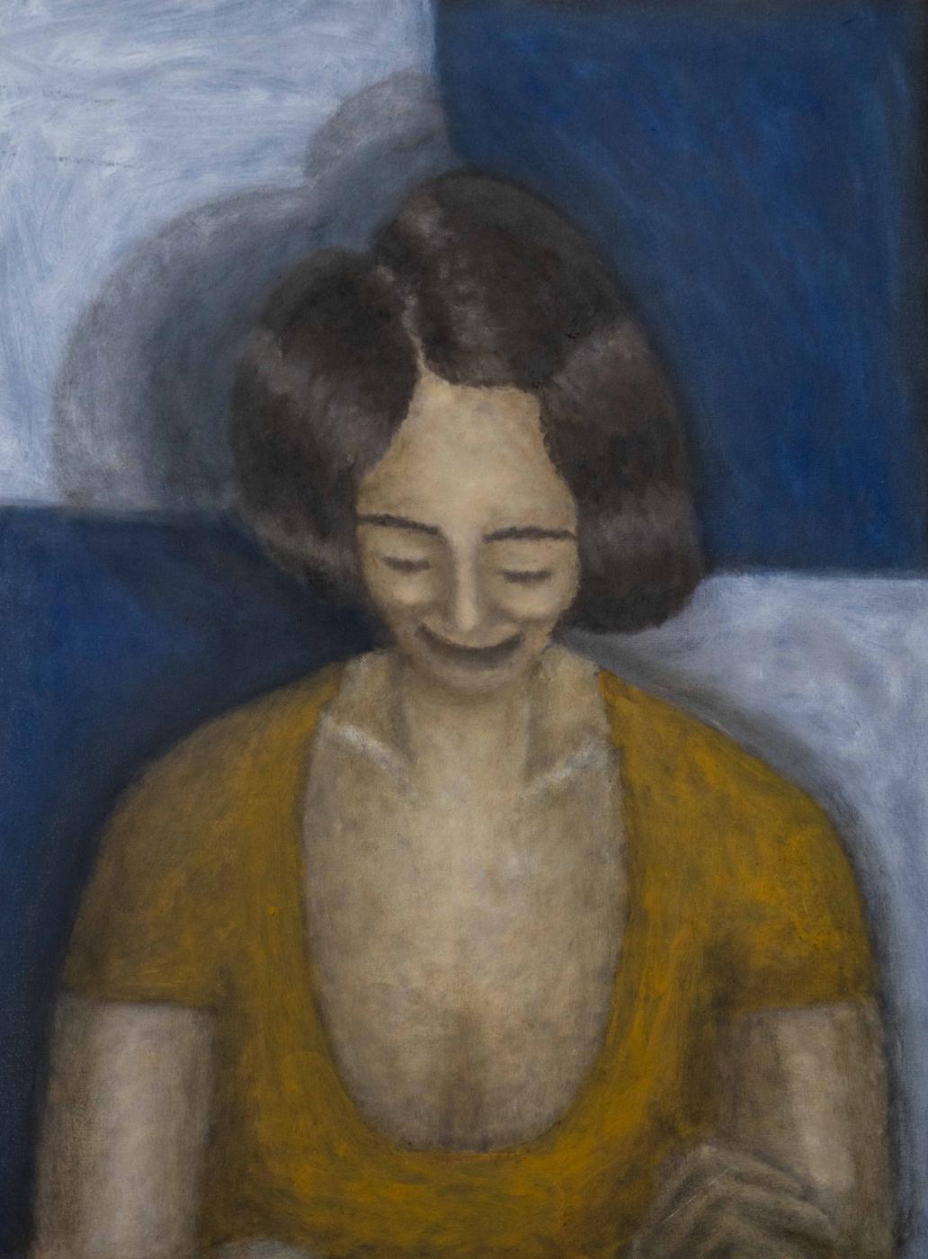 Andrey Victorovich Schekutev. SMILE CAPTIN oil on canvas on cardboard 2019year