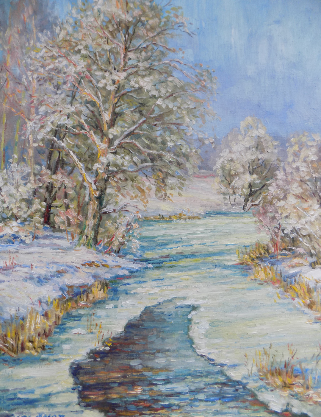 Victor Vladimirovich Kuryanov. The river is getting cold