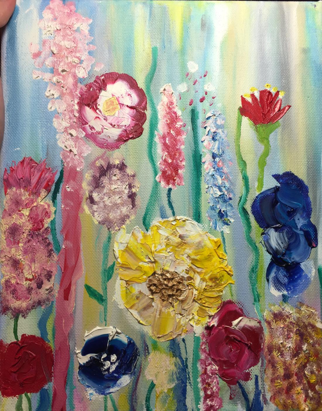 Unknown artist. Dance of flowers
