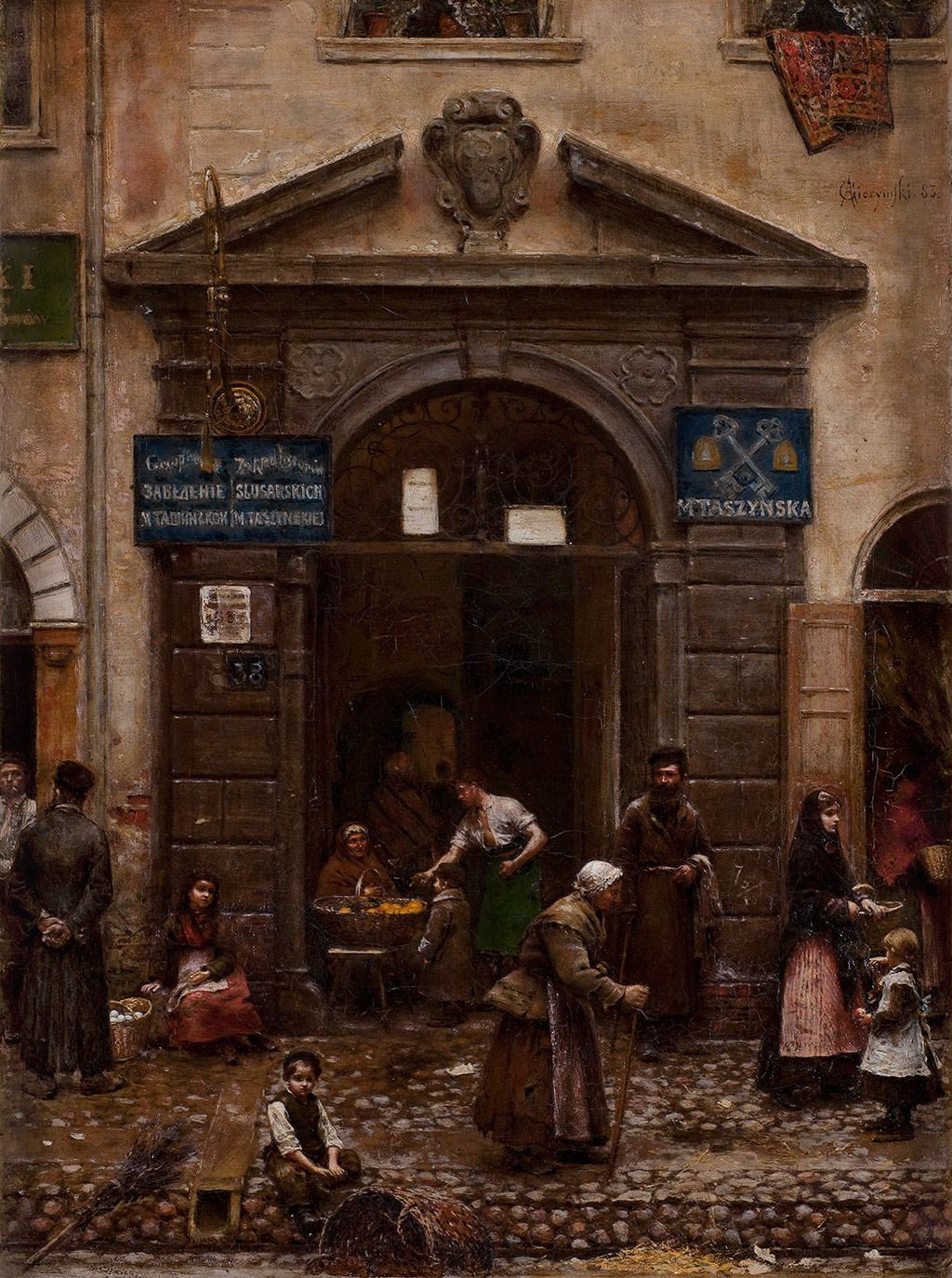 Alexander Gerymski. In the old town