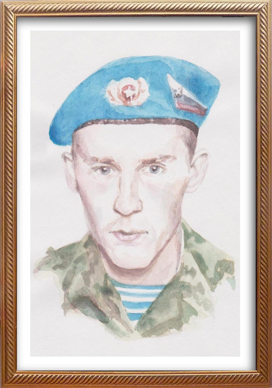 Ivan Alexandrovich Dolgorukov. Portrait of Sergey Nikulshin