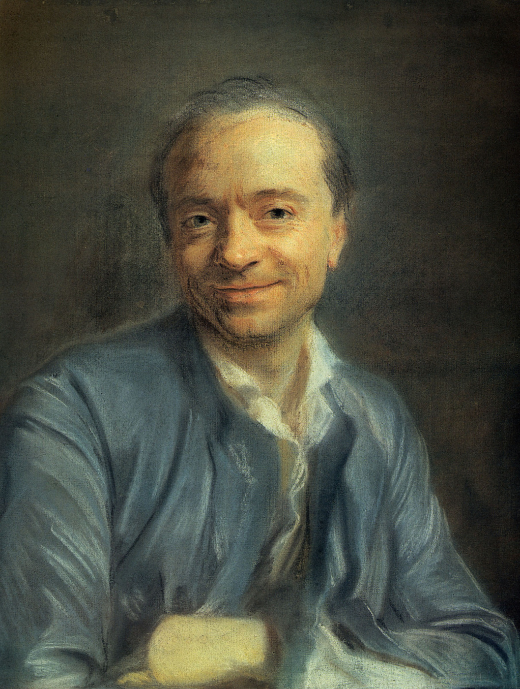 Maurice Quentin de La Tour. Self-portrait