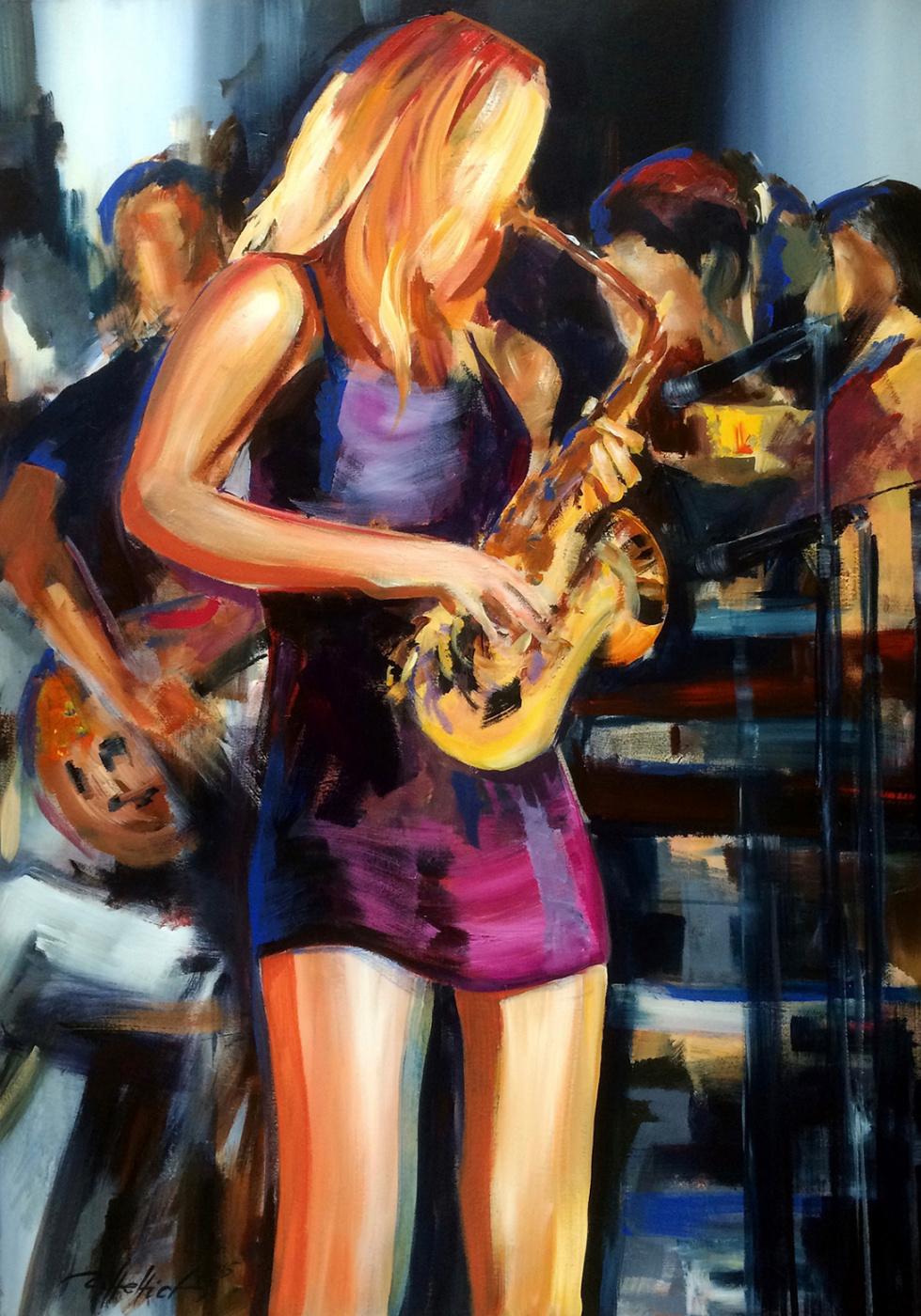 Robert Hettich. Saxophone melodies
