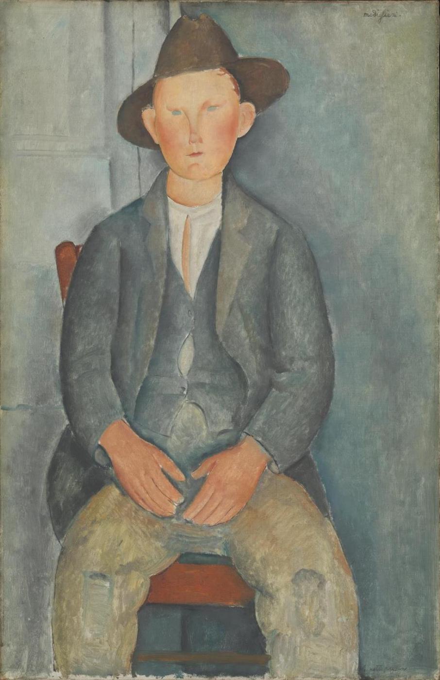 Амедео Модильяни. Маленький крестьянин