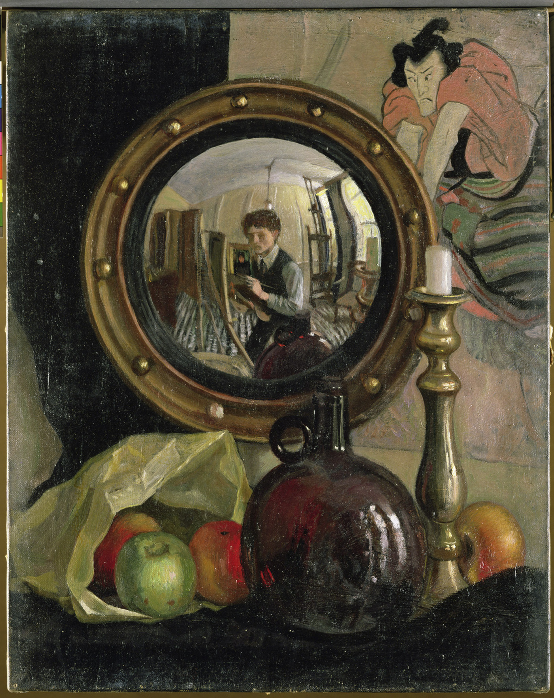 Still Life with Self-Portrait by Mark Gertler: History, Analysis & Facts