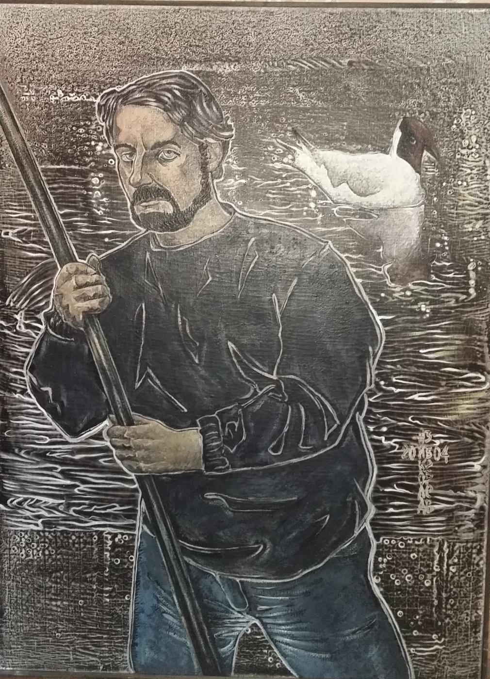 Nikolay Zverev. Boatman