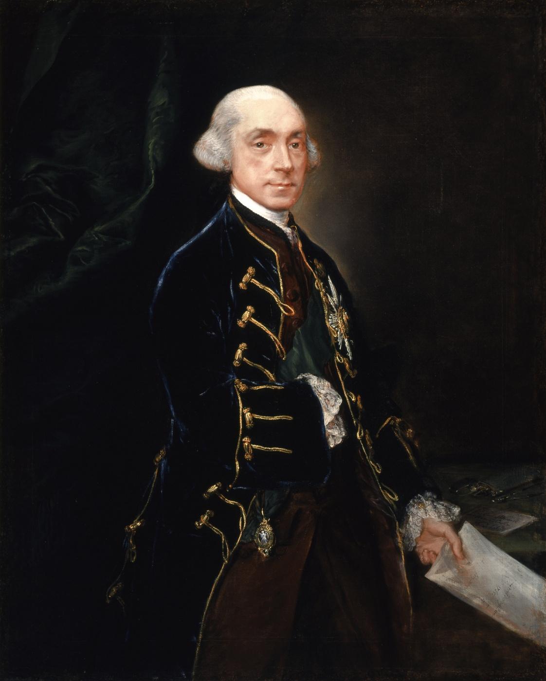 Thomas Gainsborough. Francis Greville, 1st Earl of Warwick