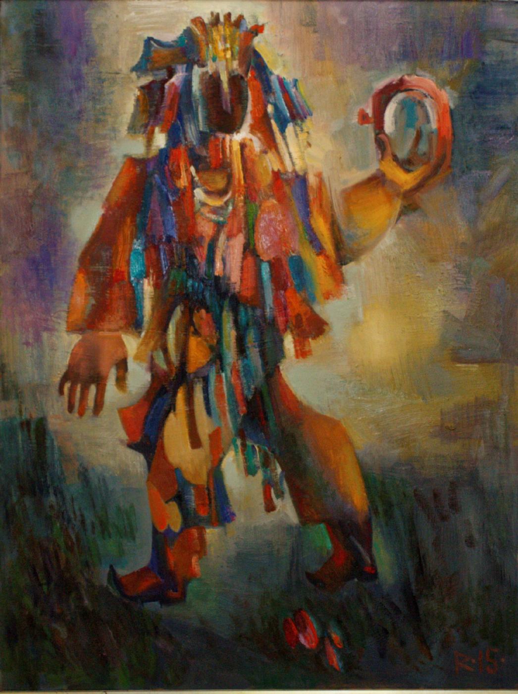 Николай Алексеевич Ротко. Dance with a tambourine