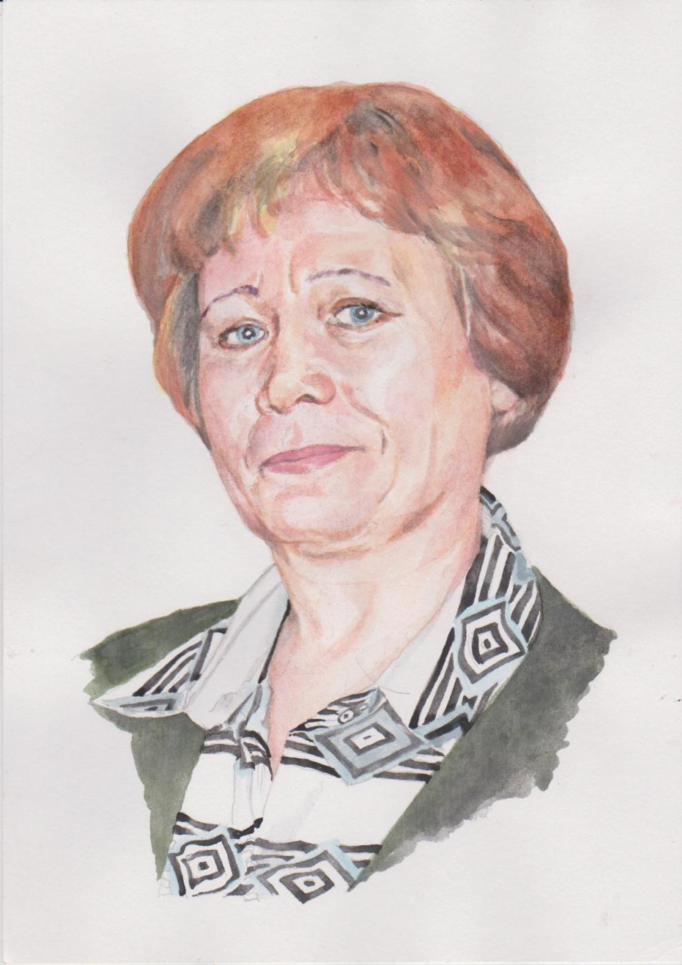 Ivan Alexandrovich Dolgorukov. Portrait Of Lydia Murah