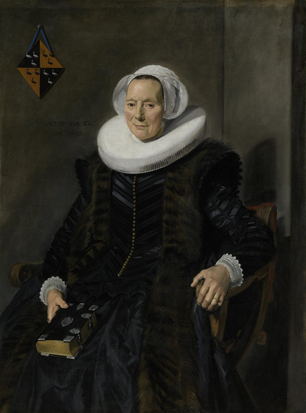 Frans Hals. Portrait of Marit Vogt, wife of Peter Alikana, the mayor of Harlem