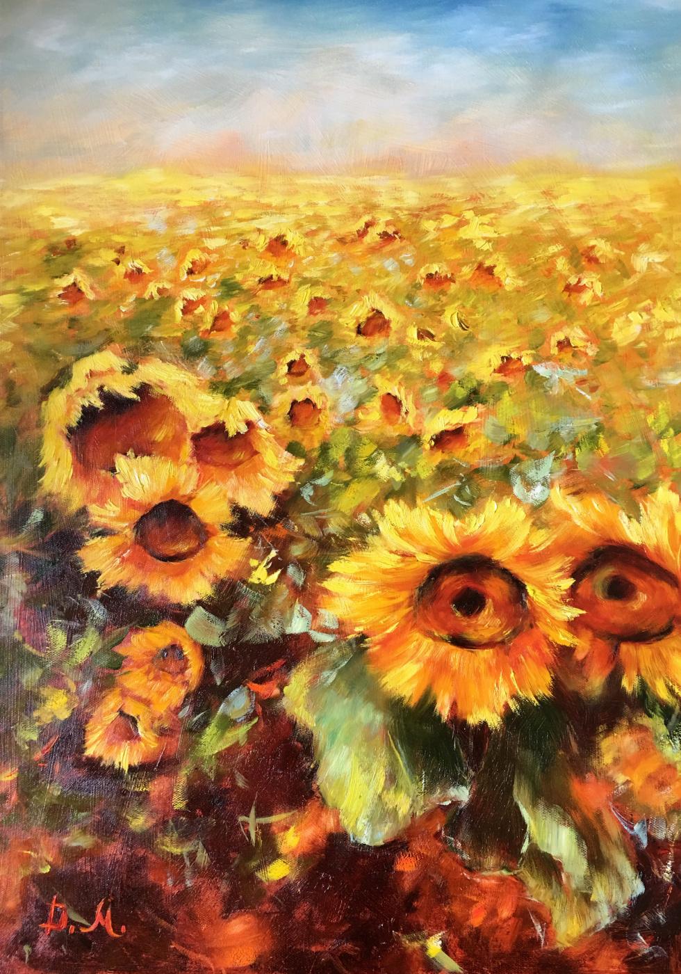 Диана Владимировна Маливани. Sunflowers
