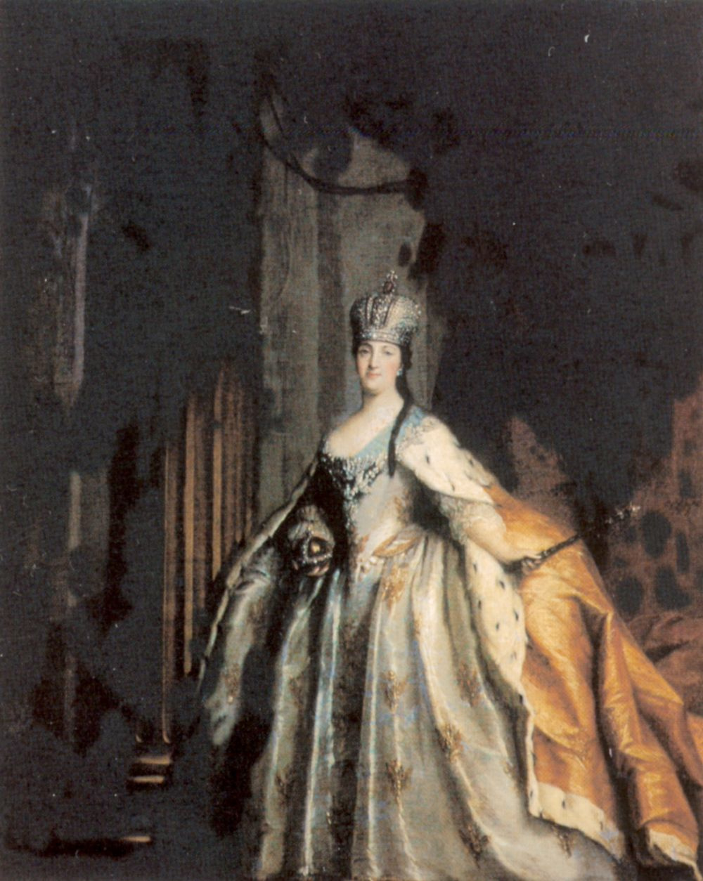 Stefano Torelli. Portrait of Empress Catherine II