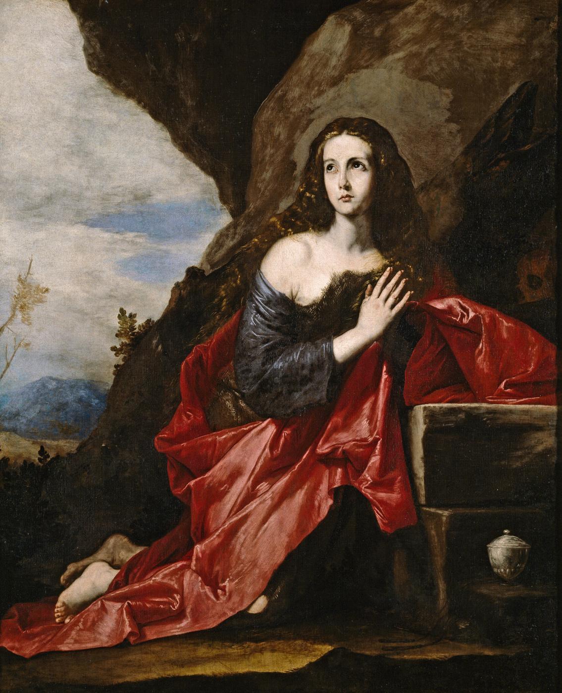 Jose de Ribera. Penitent Mary Magdalene
