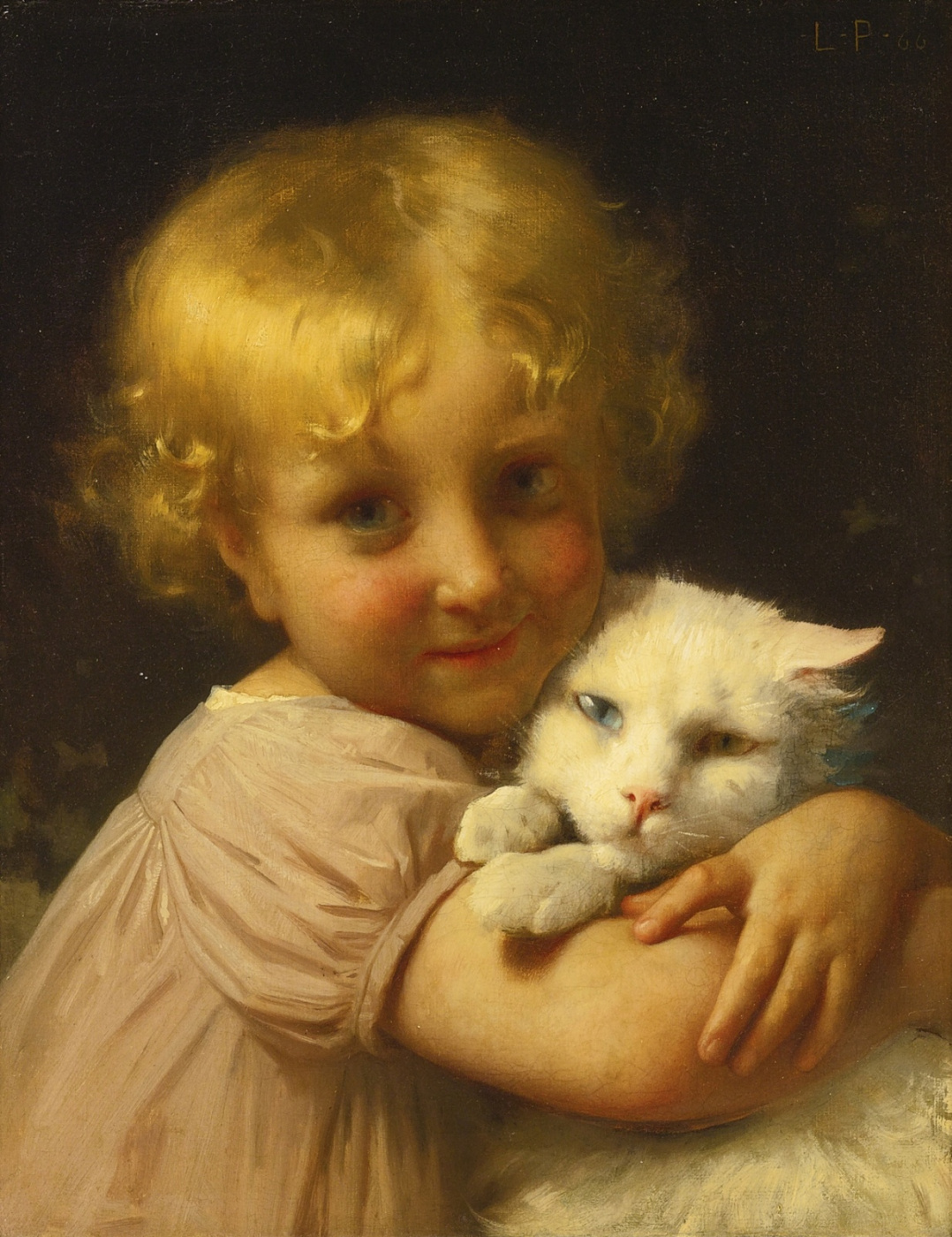 Leon Basile Perrot France 1832-1908. Best friends. 1866