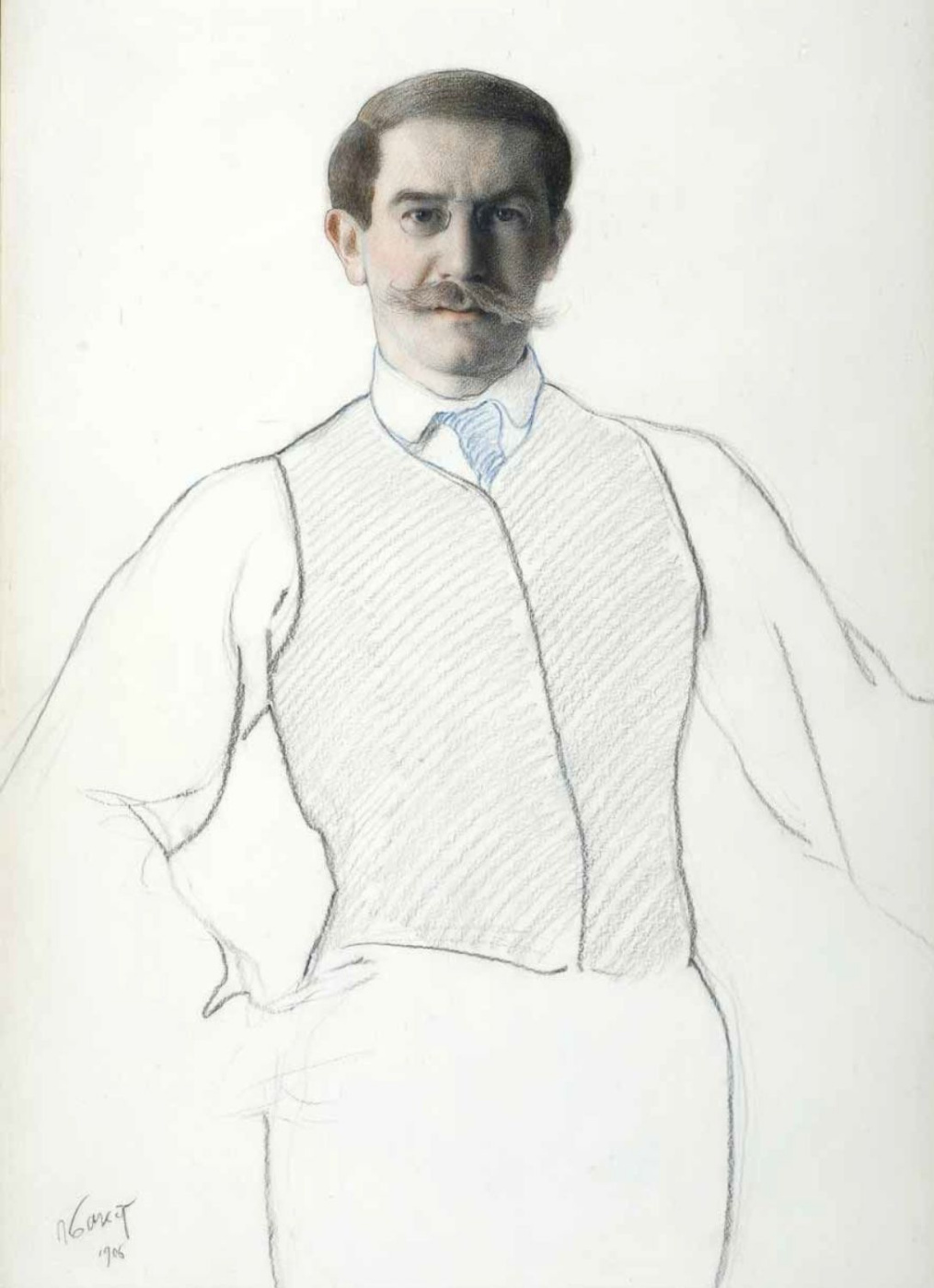 Lev (Leon) Bakst. Self-portrait