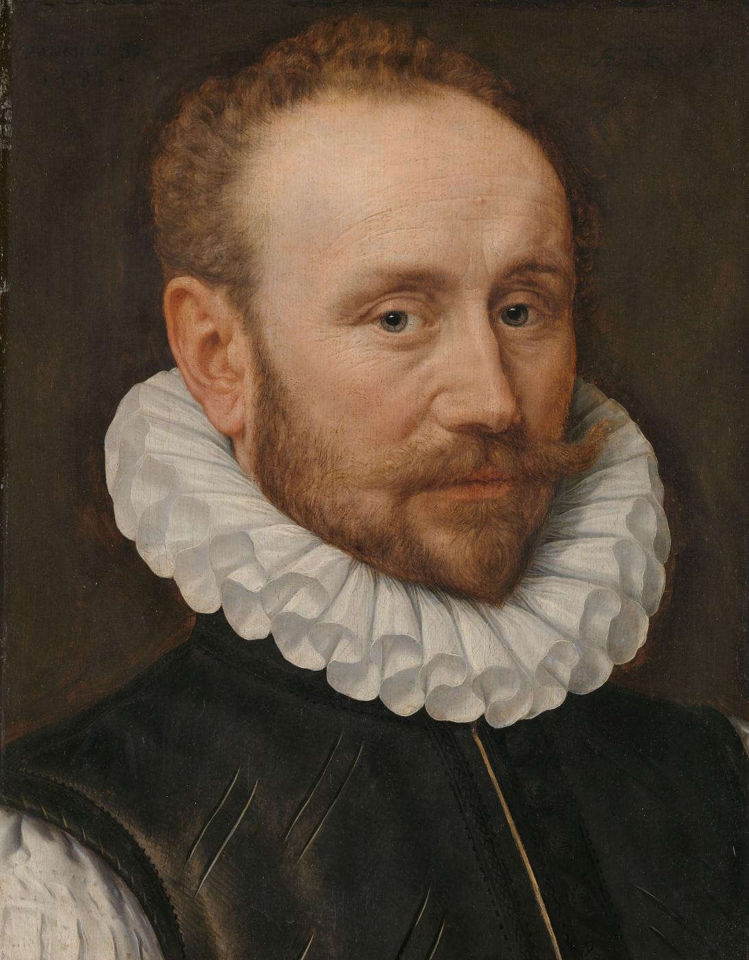 Adrian Thomas Kay. Portrait of a man