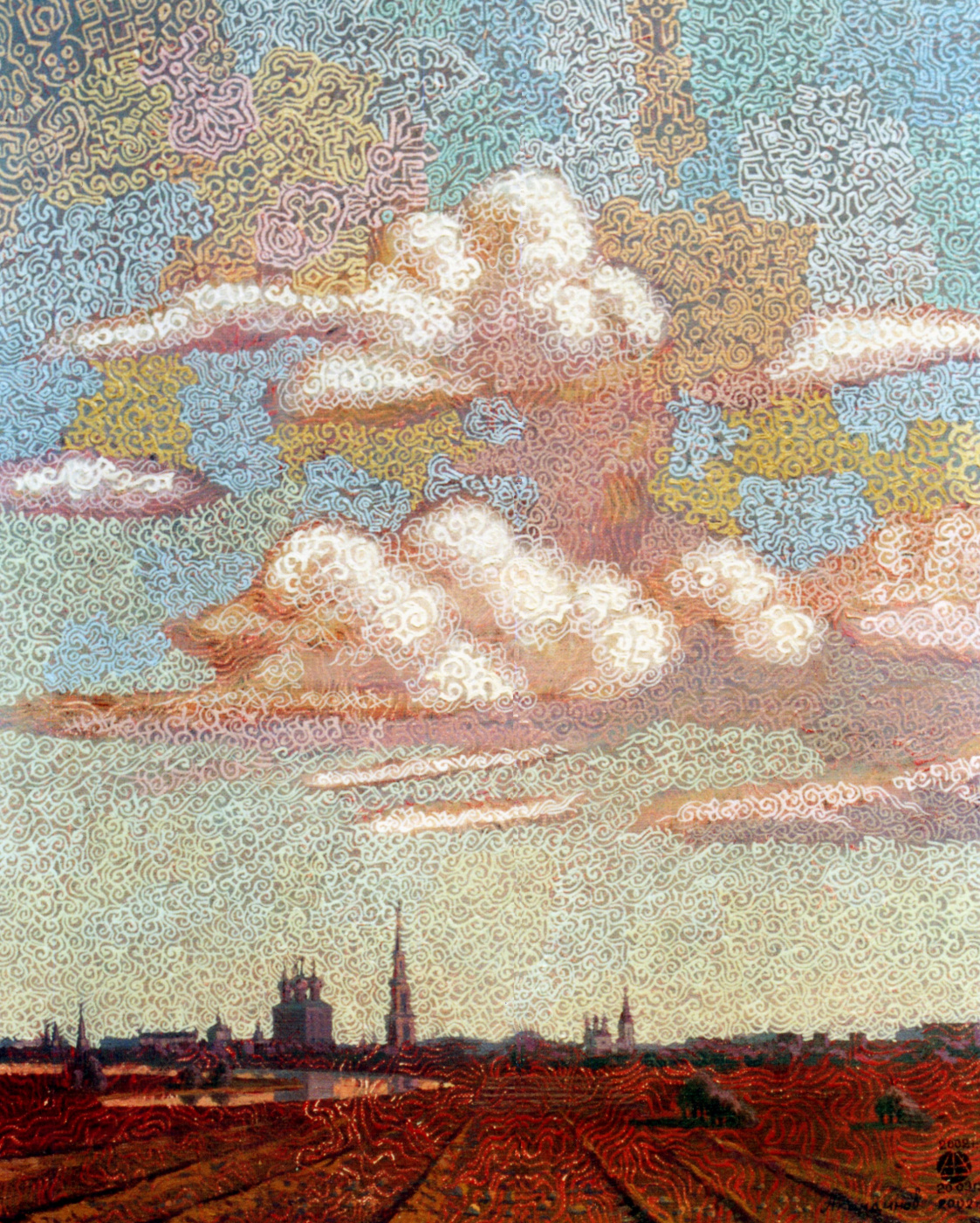 Алексей Петрович Акиндинов. Sky over Ryazan