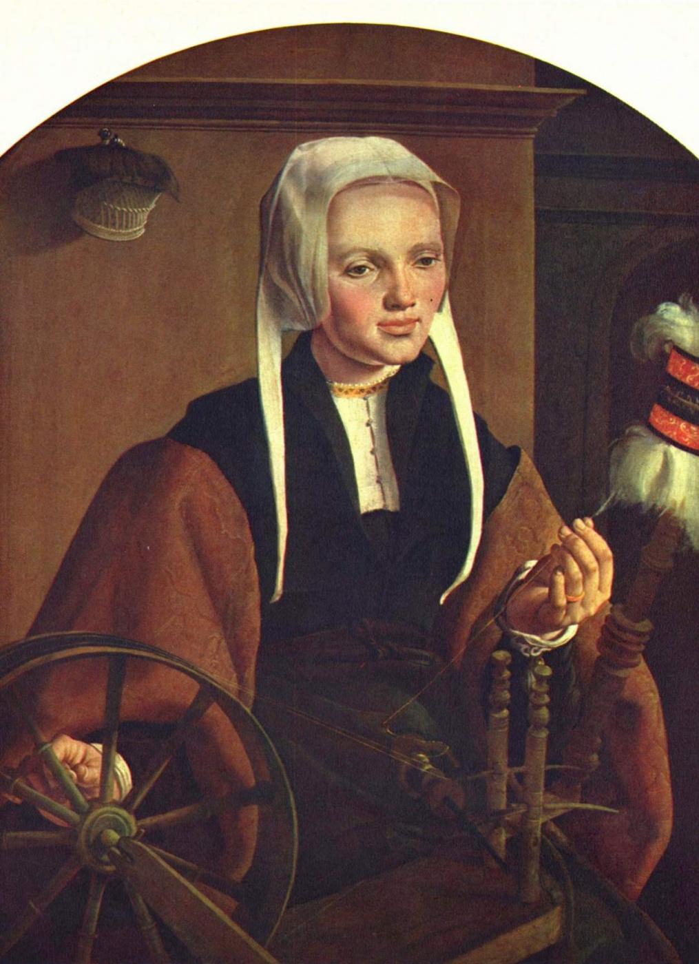 Martin van Heemskerk. Portrait Of Anne The Codd