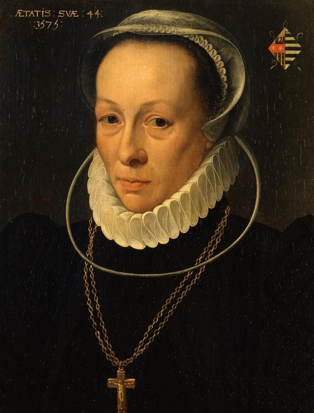 Unknown artist. Female portrait. 1575