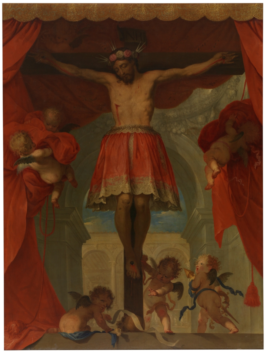 Juan Carreno de Miranda. Распятый Христос