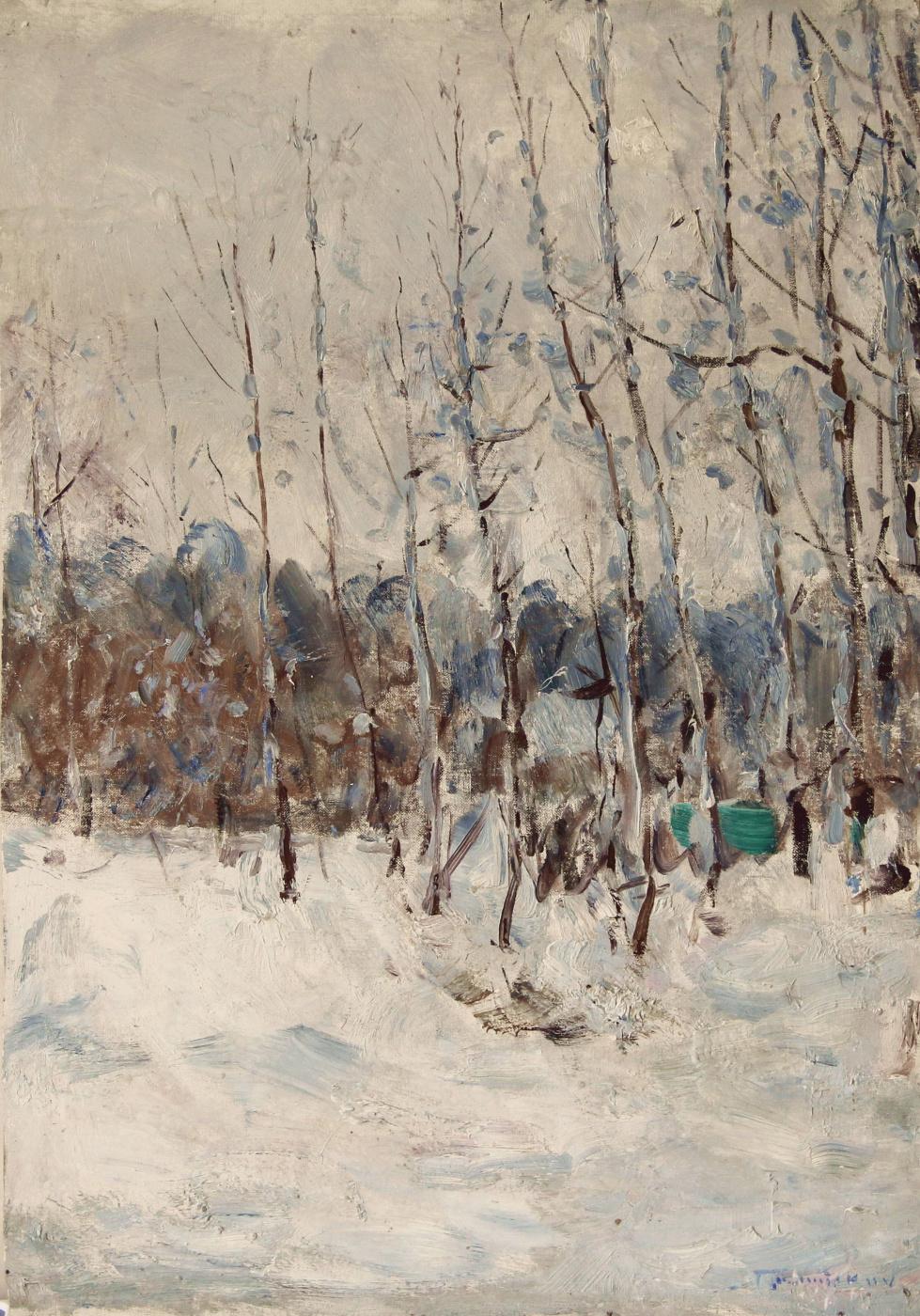 Vladimir Georgievich Gremitskykh. Winter sun