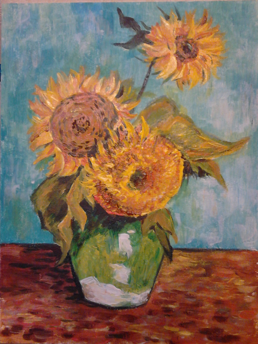 "Marina Lezhneva. ""Sunflowers. Rapture"""