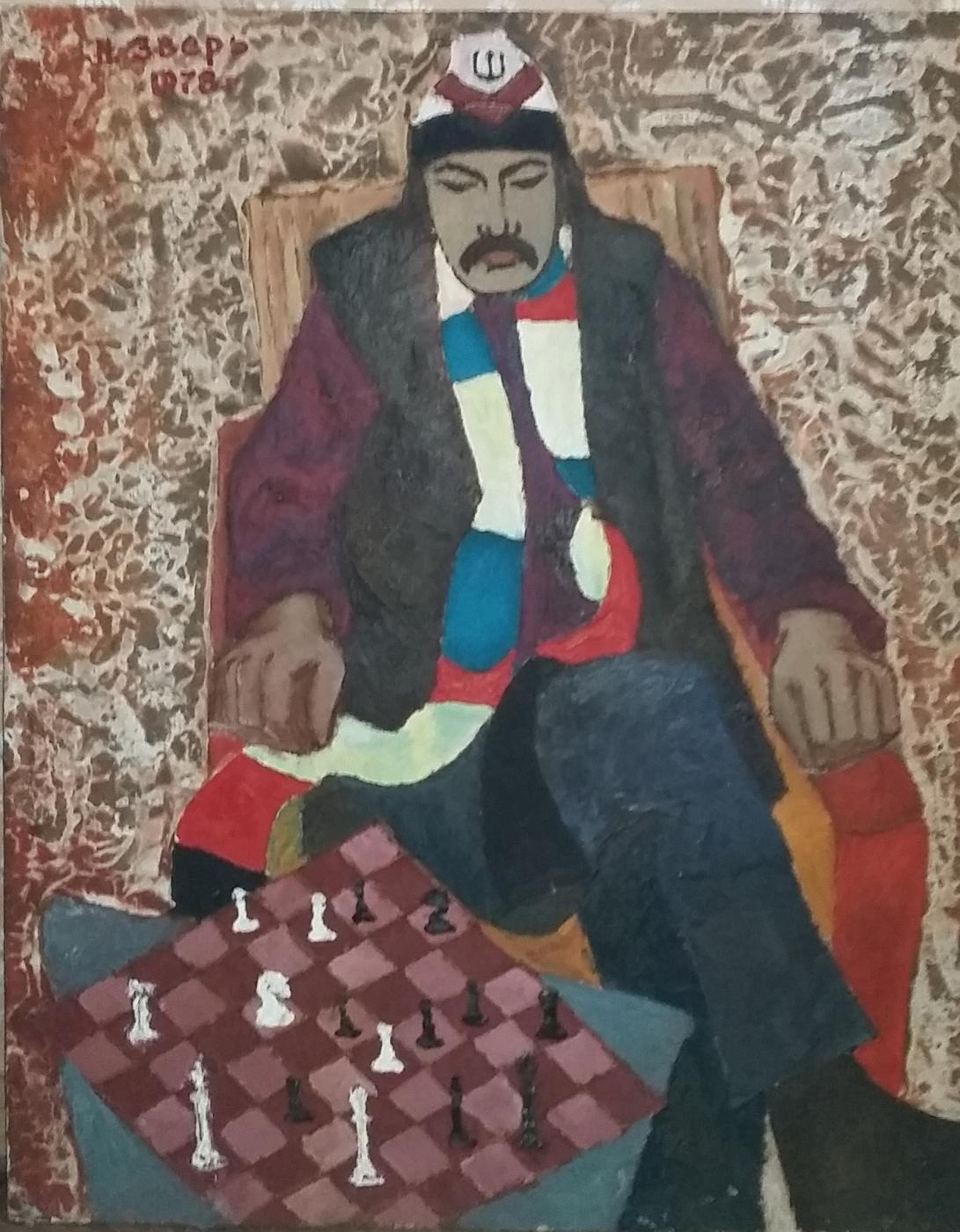 Nikolay Zverev. Chess player