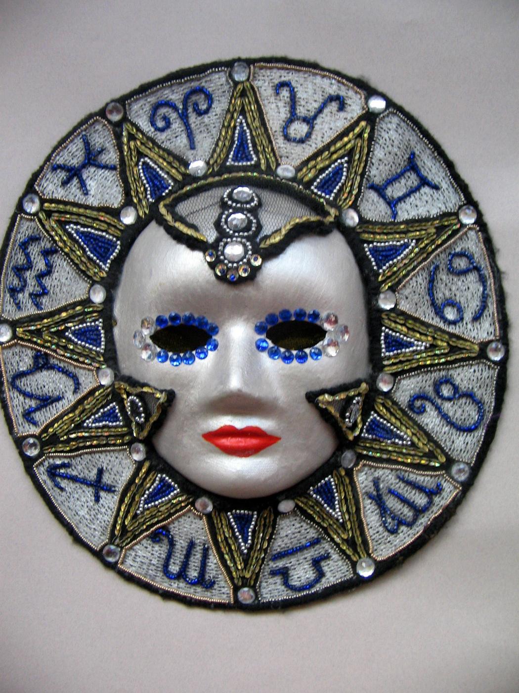 "Tatyana Turanova. Interior carnival mask ""Polar Star"""